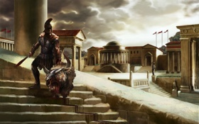 Обои RomeRising, and, Gods, Heroes