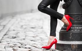 Картинка pose, heels, tight pants