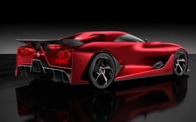 Обои Concept, концепт, Nissan, Vision, ниссан, гран туризмо, Gran Turismo