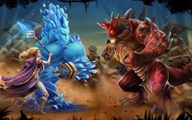 Обои маг, Warcraft, diablo, art, Heroes of the Storm, jaina proudmoore