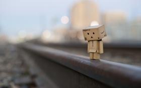 Обои настроение, коробка, железная дорога