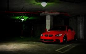 Картинка красный, bmw, бмв, тачки, cars, auto wallpapers, авто обои