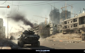 Картинка игра, game, Battlefield 3, back to karkand