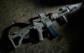 Картинка карабин, фон, штурмовая винтовка, оружие