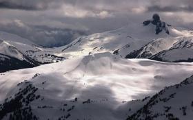 Картинка горы, канада, Вистлер