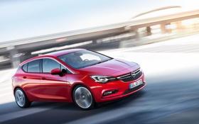 Картинка Opel, астра, опель, Astra, 2015