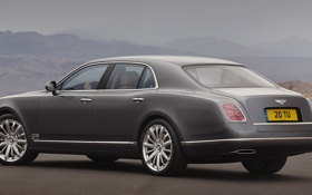 Картинка car, машина, 2012 Bentley Mulsanne Mulliner