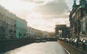 Обои Russia, набережная, питер, санкт-петербург, St. Petersburg, зингер