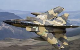 Картинка полет, истребитель, бомбардировщик, Panavia Tornado, GR4