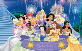 Картинка Tiana, beauty, Ariel, Mulan, Cinderella, Pocahontas, Belle