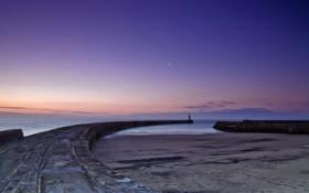 Обои море, пейзаж, England, Seaham