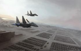 Картинка авиация, армия, танки, soviet assault, world in conflict