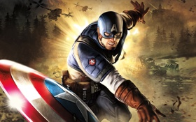 Картинка вертолеты, USA, танки, Captain america
