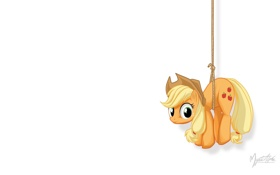 Обои пони, My little pony, MysticAlpha, Applejack