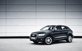Обои cars, auto, wallpapers auto, wallpapers audi, Black light, Audi Q3, Audi q3 quattro