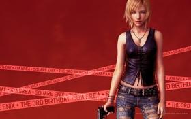 Обои оружие, джинсы, parasite eve, aya brea