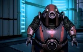 Картинка art, games, Mass Effect, Volus