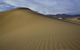Картинка песок, пустыня, небо, барханы, природа, дюны