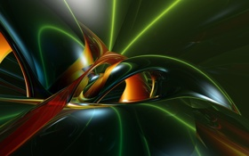 Обои abstract, rendering, anima