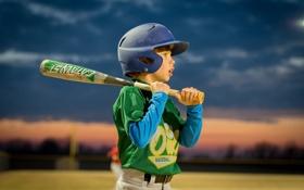 Обои спорт, мальчик, baseball