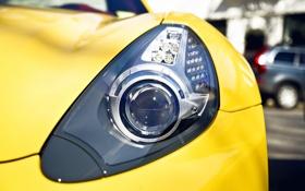 Обои Ferrari 250 TR 1957, yellow, metal