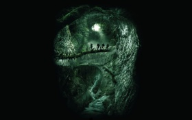 Картинка фильм, силуэт, джунгли, Проект Динозавр, The Dinosaur Project