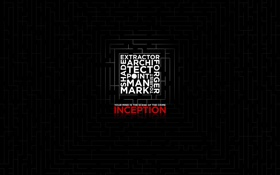Обои лабиринт, inception, слоган