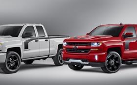 Картинка Chevrolet, шевроле, Silverado, сильверадо