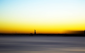 Обои new-york, Statue, Liberty