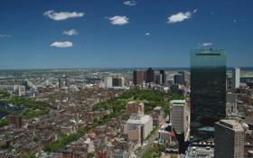 Обои город, city, USA, Massachusetts, Boston