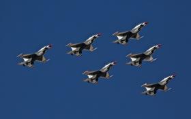 Обои самолёты, авиация, Thunderbird, оружие