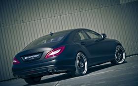 Обои car, машина, tuning, 3000x2000, KICHERER, mercedes CLS Edition Black