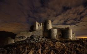 Картинка ночь, замок, Game of Thrones