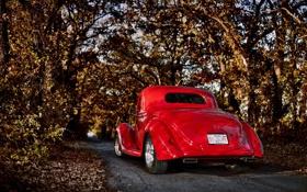 Обои машина, 1936, дорога