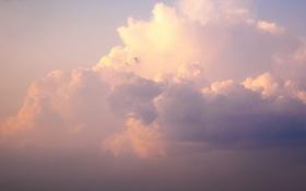 Картинка облака, розовый, обои, красивые облака