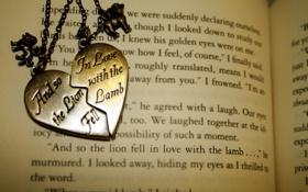 Обои обои, медальон, книга, love, разное, the, with