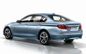 Картинка машина, фон, обои, BMW, ActiveHybrid 5