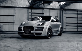 Картинка car, авто, тюнинг, джип, порше, TechArt, Porsche Cayenne Turbo