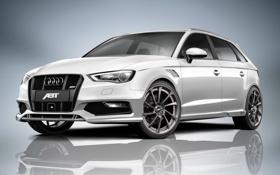 Обои Audi, ауди, ABT, Sportback, 2013, AS3
