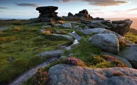 Обои пейзаж, природа, камни, гора