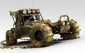 Картинка машина, игра, грязь, гонки