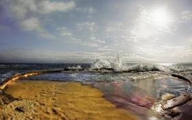 Картинка море, волны, пейзаж