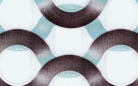Обои узоры, текстура, окружности, волны, цвета, обои, арт