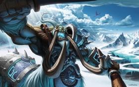 Картинка World of warcraft, wow, рык, litch king