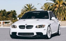 Обои BMW, Белая, Обои, Sedan, E90, Concept One