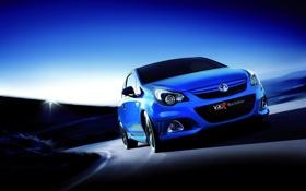 Картинка 2012, blue, vxr, vauxhall corsa