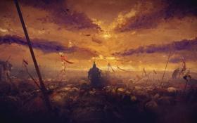 Картинка воин, Рим, поле боя, Son of Rome, Ryse