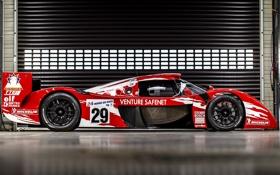 Обои авто, болид, Toyota, вид сбоку, 1998, GT One, Race Version