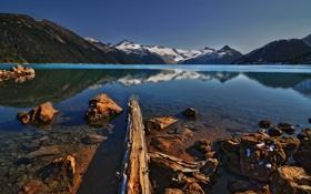 Обои горы, озеро, DecayRate