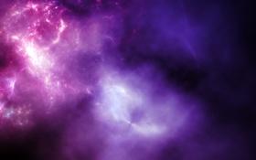 Обои пространство, свечение, space, созвездие, nebula